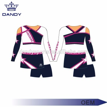 Cheerleading-Uniform des kundenspezifischen Sublimationsdruckdesigns