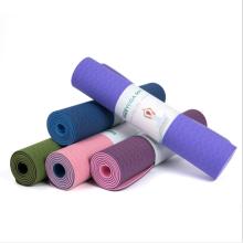 Wholesale Foldable Custom Tpe Yoga Mat Set