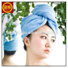 Бамбуковые волокна волосы полотенце сушки волос банные полотенца полотенце тюрбана обруча волос