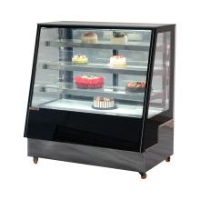 Bolo criativo display frigorífico durável display stand vitrine
