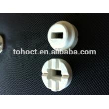 Conector de corte industrial 3x6 soldadura de férulas / anillos de cerámica para soldadura de postes