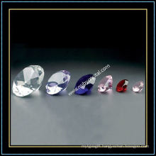 Blank Crystal Diamond for Engraving with Different Colors