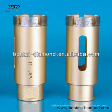Professional diamond core drill bits for concrete, stones,ceramics