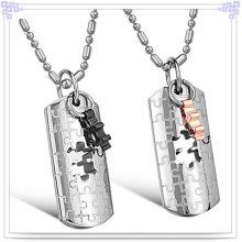 Joyería de moda collar de acero inoxidable colgante (nk123)