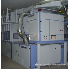 Máquina de classificação de fibras diferentes em fiação