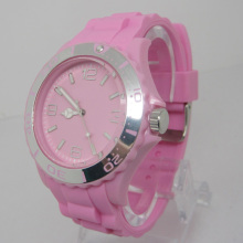 Nouvelle protection de l'environnement Japon Movement Plastic Fashion Watch Sj073-7