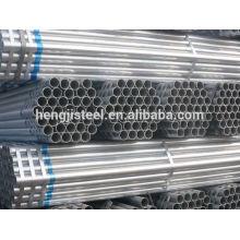 Matériau de construction ERW tuyau en acier galvanisé