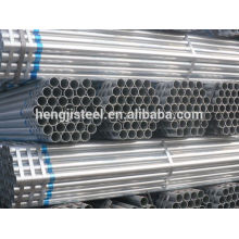 ERW construction material galvanized steel pipe