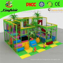 Mini Square Used Indoor Playground with Ball Pool