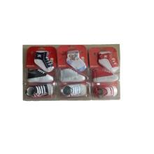 Exportación a África zapatos para caminar con calcetines para bebés