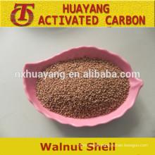 Walnut shell grit/powder as abrasives/walnut shell granule
