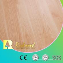12.3mm HDF AC4 en relieve de haya encerado piso laminado
