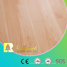 12.3mm HDF AC4 Embossed Beech Waxed Edged Laminate Floor