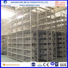 Serrures à mezzanine multi-niveaux en acier et étagères pour stockage en usine / entrepôt
