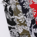 Stoff mit einfachem Popeline-Blumenmuster im Modestil