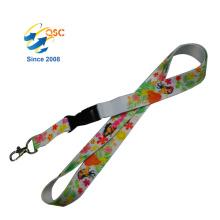 Custom Sports Neck Strap/Key Holder Heat Transfer Lanyard