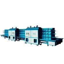 V16-B: Máquina de fixação de sola totalmente hidráulica