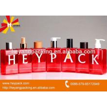 Rote quadratische Lebensmittel-Spray-Flasche