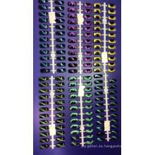Polvo magnético de camaleón 3D / ojos de gato pigmentos para cosméticos, esmalte de uñas / arte, sombra de ojos, maquillaje, etc.