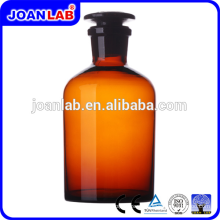 Джоан лабораторной посуды Янтарь реагент бутылка с стеклянной крышкой