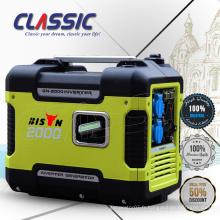 CLASSIC (CHINA) Générateur d'inverseur portable super silencieux 2kw, générateur d'inverseur monophasé à courant alternatif