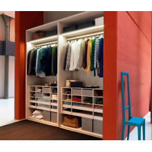 Professional Manufacturer Modern Solid Wood Wardrobe
