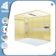 with Handrail and PVC Floor Hospital Elevator of Speed 1.0m/S