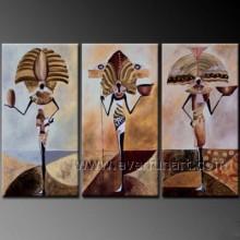 Современная абстрактная африканская картина маслом рис на холсте