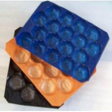 Estándar de prueba FDA 29X39cm, 29X49cm, bandeja de exhibición plástica colorida de 39X59cm hecha del polipropileno de Virgn de la categoría alimenticia