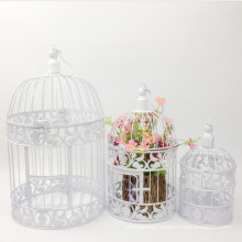 Hot Sale Iron Handmade Bird Cage with Powder Coating
