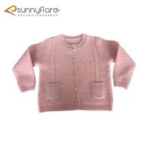 Venda al por mayor el suéter 100% de los cardigans de los niños de la cachemira