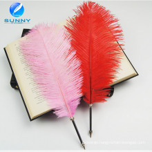 Classical Feather Ballpoint Pen Wholesale Metal Feather Quill Pen