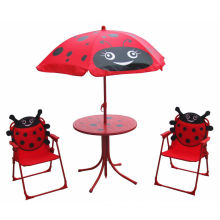 Various Style Cute Kids Foldable Portable Table and Chair Set\Children Leisure Outdoor Using Table and armrest Chair Set