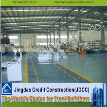 Structural Steel Fabrication Factory Workshop