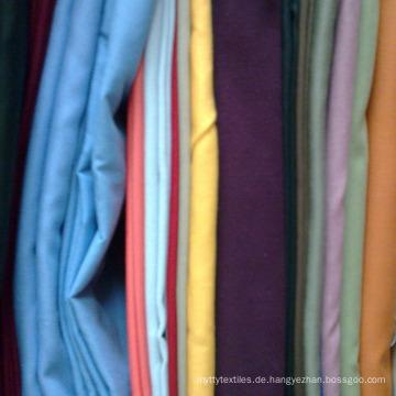 Twill TC Garn gefärbt Plaid Popeline Stoff für Herren Hemd und Schule Shirt Uniform