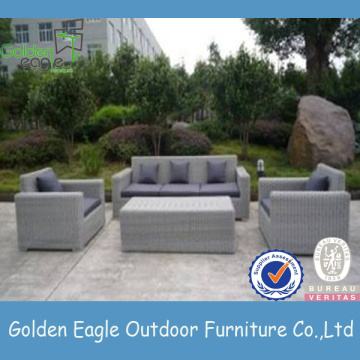 PE Rattan & Aluminum Outdoor Furniture Sofa