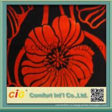 цветочный узор ткани диван диван бархатная ткань шаблона сделано в Китае