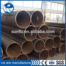 Factory manufacturer structure black LSAW Q345 steel pipe