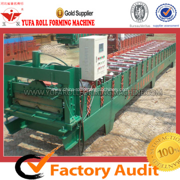 Cold color steel JCH sheet roll forming machine