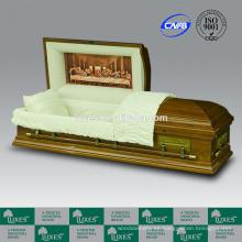 LUXES última cena ataúd estilo americano funerales ataúdes