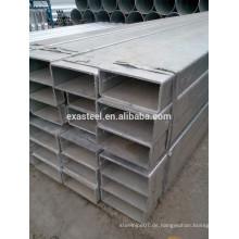 Großes OD-Quadrat Galvanisiertes Stahlrohr 100 * 1150