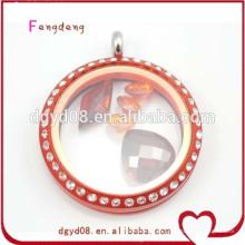 Venda quente acrílico medalhões 2014 moda jóias