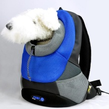 Seabreeze Large PVC and Mesh Pet Backpack