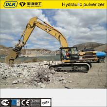 cisaille hydraulique d'excavatrice, concasseur et pulvérisateur pour la démolition de bâtiment