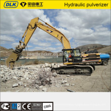 excavator hydraulic shear, crusher and pulverizer for building demolition