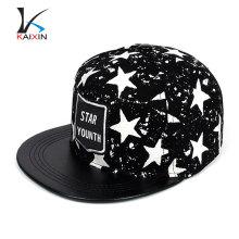 пользовательские тканые этикетки звезда печать хип-хоп snapback шляпы для небольших глав