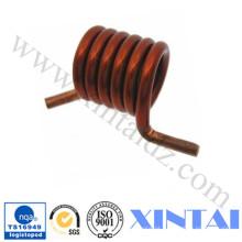 Oferta de molas de torção de espiral de cobre personalizado