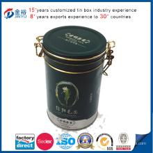 Wholesale Metal Airtight Lid Locked Tea Tin