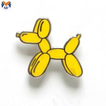Metal Custom Design Enamel Balloon Dog Pin