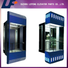 Elevador de cristal de observación